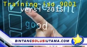 Training ISO 9001 versi 2015